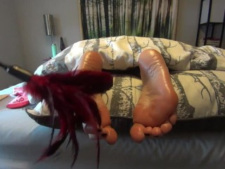 Read. Comply. Repeat (Part 2) caress My ideal pinkish feet! 1080p HD PREVIEW